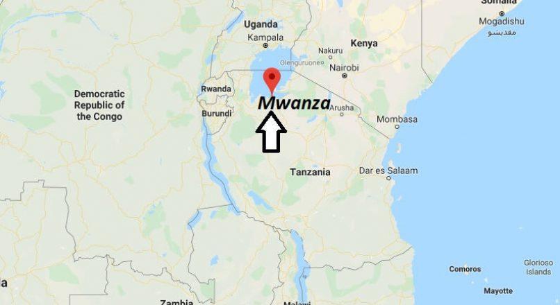 Mwanza City Maps